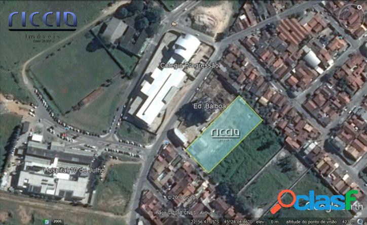 Área 4.500 m² Excelente p/ Prédio - Ac.
