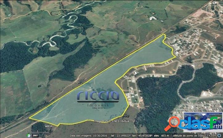 Área 775.410,00 m² Urbanova SJC Gleba A-1