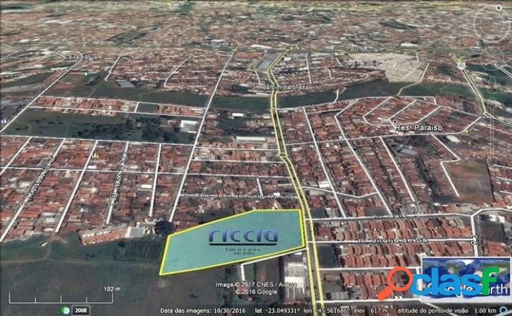 Área C/ Projeto Pré Aprovado Taubaté - 18.527,56 m² -