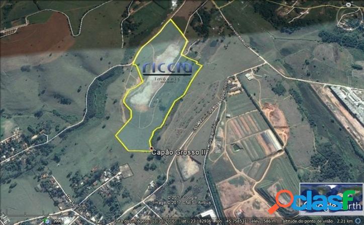 Área Industrial 268.787 m² em SJCampos - R$ 35,00 o m²