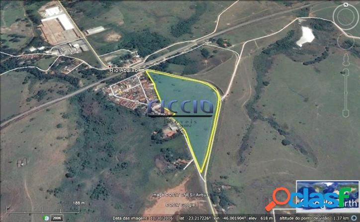 Área Industrial 60.401 m² Divisa Jacareí Próx AMBEV -