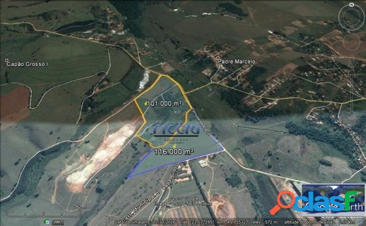Área Residencial 217.000 m² em SJCampos - R$ 35,00 o m²