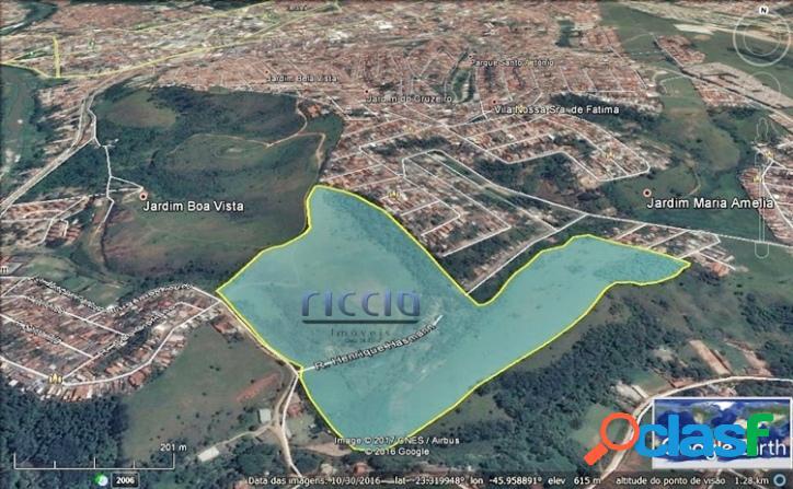 Área Residencial 224.000m² - 400 Lotes - Estuda