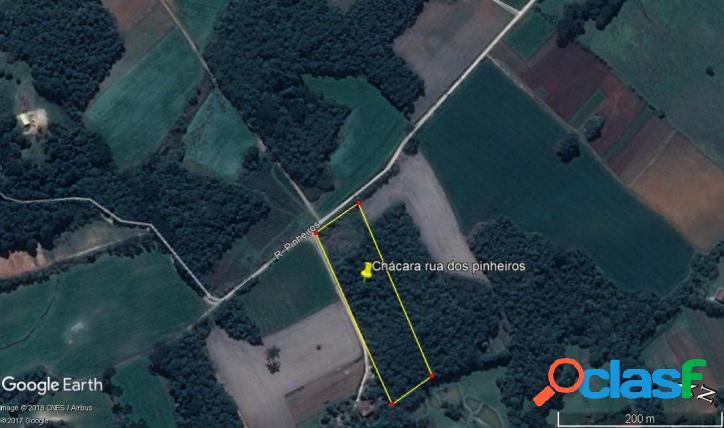 Área a 2,5 km do centro de Tamandaré