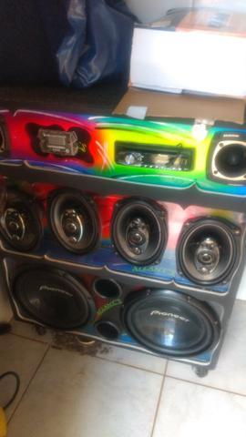 Alugo caixa de som para eventos somente aluguel