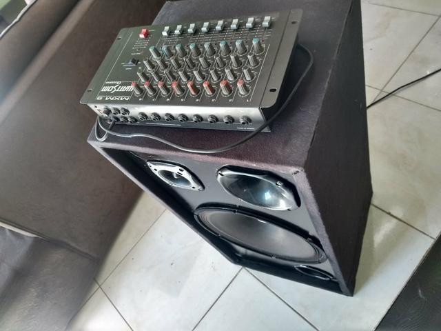 Caixa de som para festas e mesa, sem amplificador!!!!