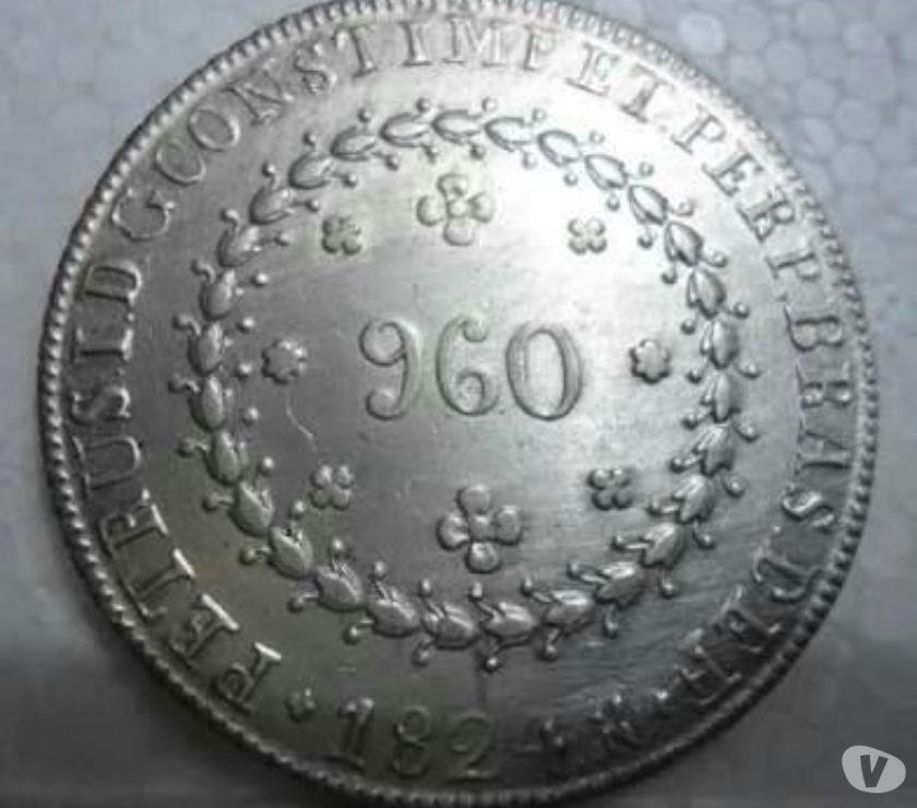 Compra e venda de moedas d prata anteriores a  R$ Kg