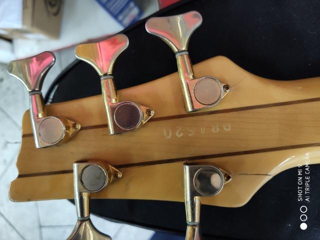 Contra Baixo Tagima 5c Luthier Modelo Exclusivo!