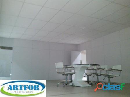 Forro Gesso, Forro PVC, Forro Isopor, Forro Mineral, Artfor,