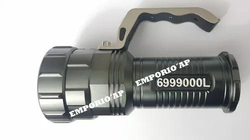 Lanterna Holofote Led 6999000 Lumens Potente Melhor Que X900