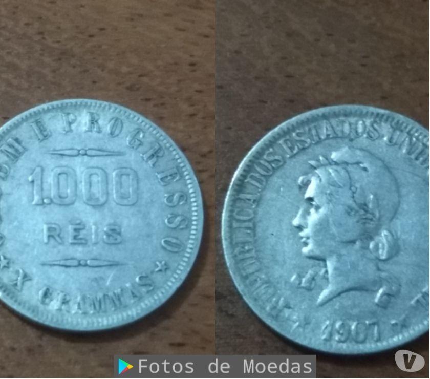 Lote de 16 moedas de Réis prata