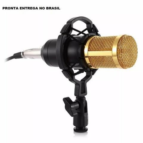 Microfone Condensador Profissional M800 Studio Audio
