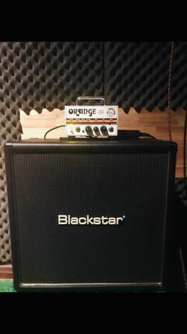 Orange Micro Terror + Gabinete Blackstar HT408