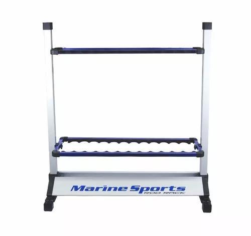 Suporte Porta 24 Varas De Pesca Chão Marine Sports -