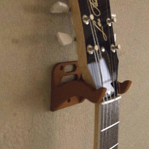 Suporte de parede para violão e guitarra