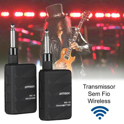 Transmissor Sem Fio Wireless Guitarra, Violão, Baixo, etc.