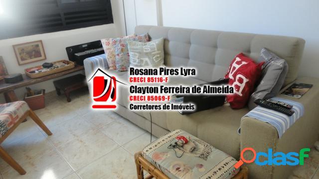 Apartamento 2 quartos frente mar,mobiliado,Gonzaga,Santos