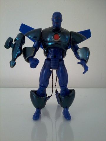 Boneco Homem de Ferro Toy Biz anos 90