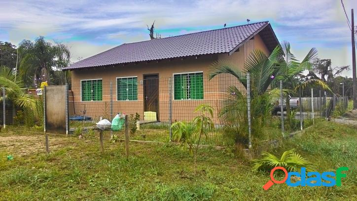 Casa de alvenaria semi nova Balneário cambiju