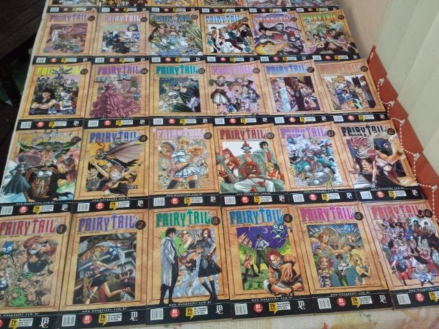 Coleção Mangá Fairy Tail 1 Ao 43