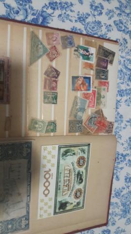Coleção de selos antigos e raros zap