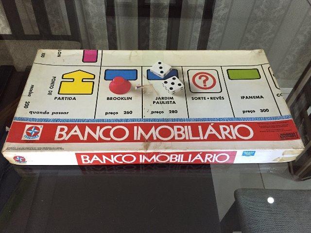 Jogo Banco Imobiliário Estrela Anos 80 - Antigo