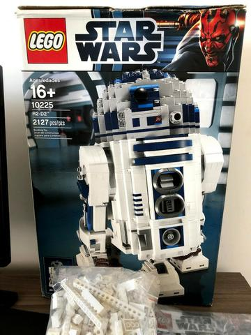 Lego  - Star Wars R2d2 - Original - Completo Na Caixa