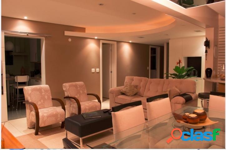 Lindo Apto 113 m2, 3 Dorm (2 Suítes), 3 vagas e lazer