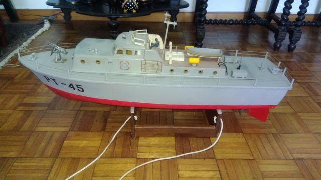 Navio patrulha de guerra de radio controle excelente