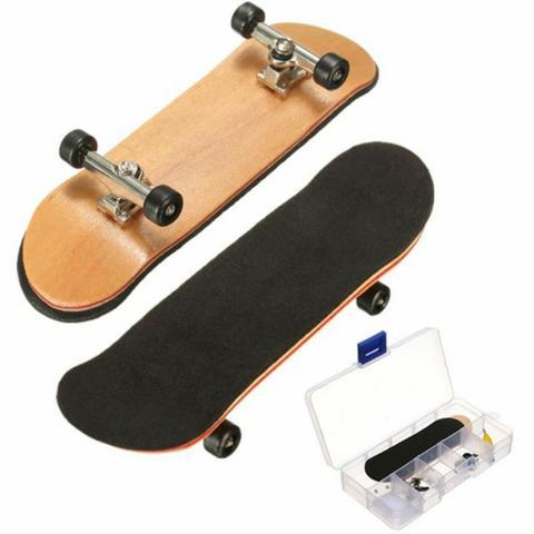 Skate Dedo Profissional com Rolamento Fingerboard Shape em