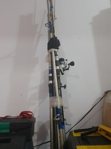 Vara de pesca Costão 4mt + 2