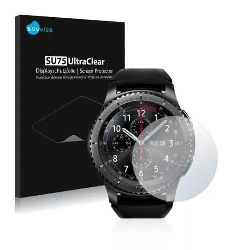 2x Peliculas Savvies® Gear S3 Frontier - Fácil