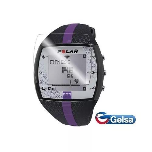 3 X Pelicula Filme Protetora Relógio Smartwatch Polar Ft7