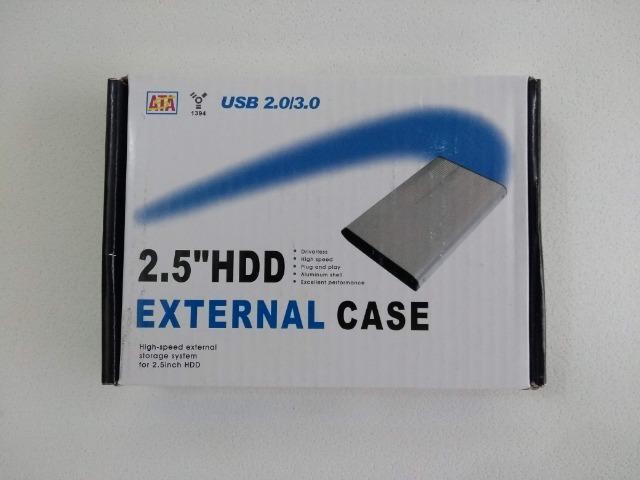 Case para HD Externo Hd Sata Notebook 2.5 Bolso (Frete