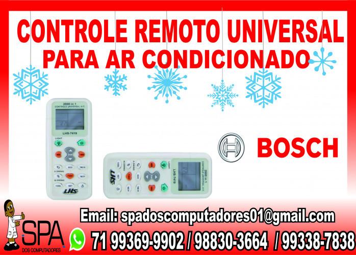 Controle Universal para Ar Condicionado Bosch em Salvador Ba