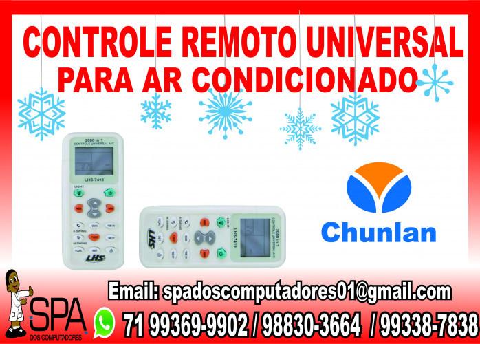 Controle Universal para Ar Condicionado Chunlan em Salvador