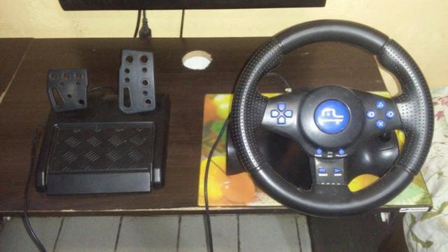 Multilaser Volante Racer 3 Em 1 Para Ps2, Ps3 E Pc  R$