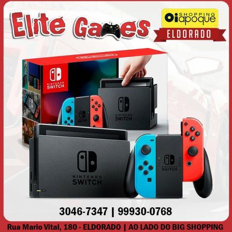 Nintendo Switch novo 1 ano de garantia (loja física)