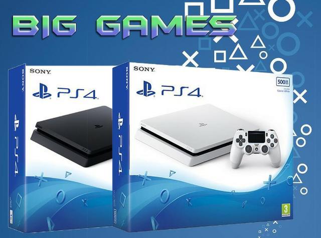Playstation 4 slim 500GB, Garantia 1 ANO