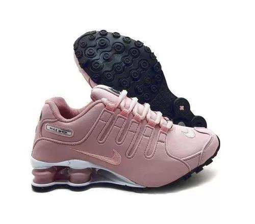 Tênis Nike Shox Nz Eu Original Rosa F