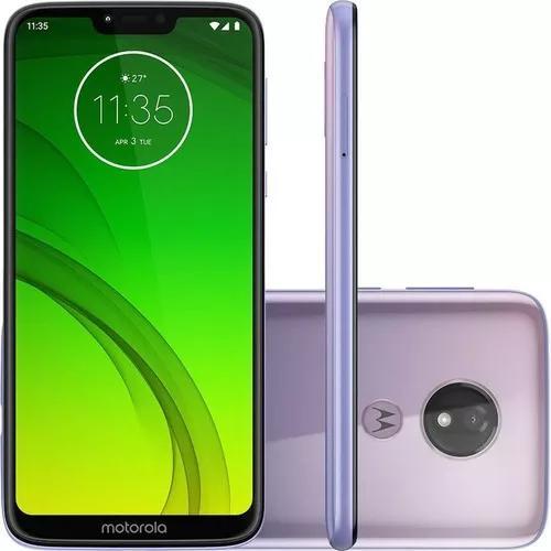 Celular Motorola Moto G7 Power 64gb 6.2 12mp 5000mah Lilac