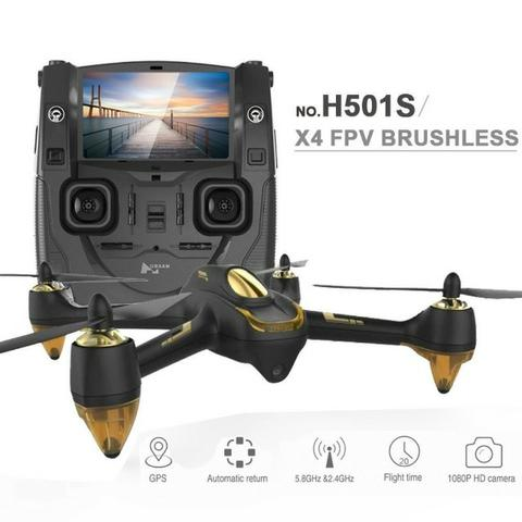 Drone Zerado Hubsan H501ss Standard Completo + Antenas