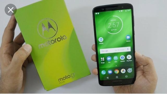 Motorola moto G6 Plus 64 GB zerado na caixa com acessórios