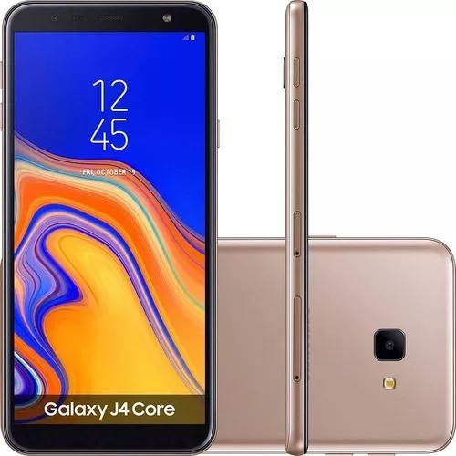 Smartphone Samsung J4 Core, Cobre, Tela De 6, 16gb, 8mp