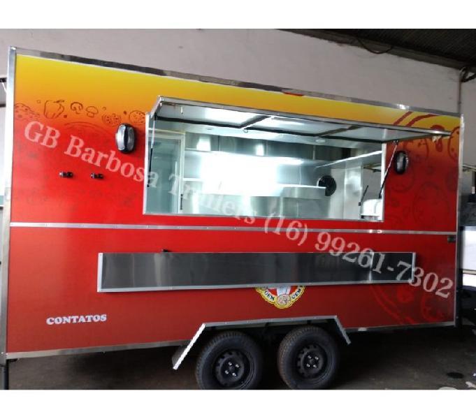 Trailer Food truck direto da fábrica treiler trailler