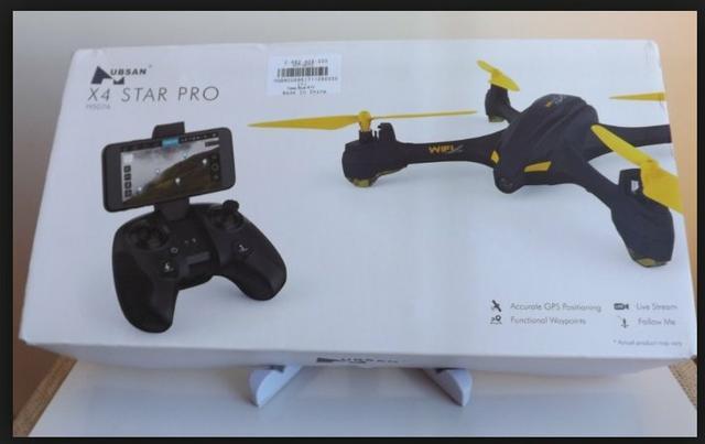 Troco drone hubsan com gps em celular.