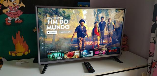 """Smartv LG Led 32"""" Polegadas Full HD - LG webOS com Wifi -"""