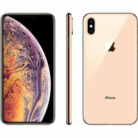 Iphone xs max 64gb novo lacrado 1 ano de garantia assim que