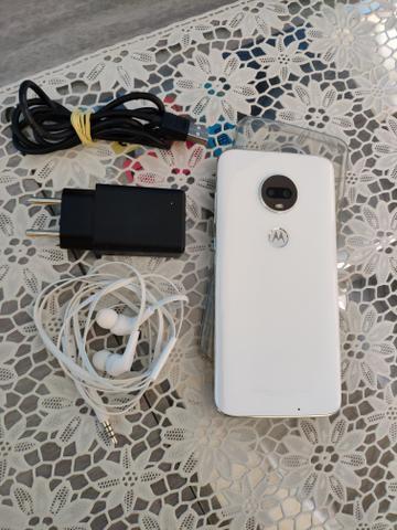 Moto G7 Branco Polar 64gb 4 de memória RAM troko