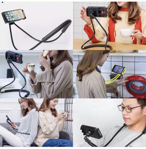 Suporte de celular para o pescoço